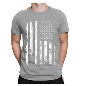 Other - NWT Grey USA Flag T-Shirt S M L XL 2XL 3XL